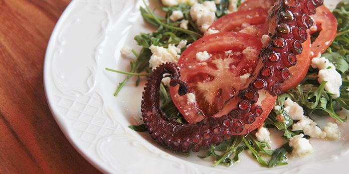Octopus from Greenwood Fish Market along Quayside Isle in Sentosa, Singapore