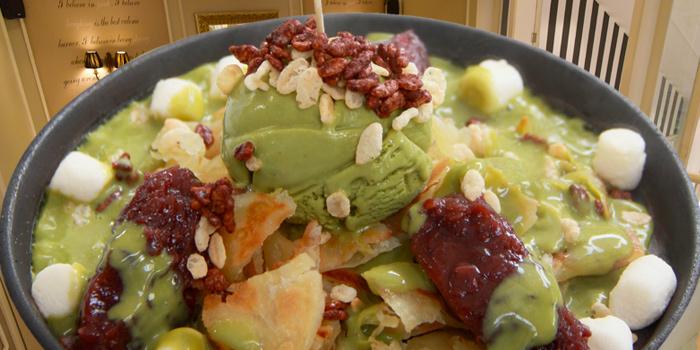 Green Tea Sizzling Roti from Petite Audrey at Siam Center, Bangkok