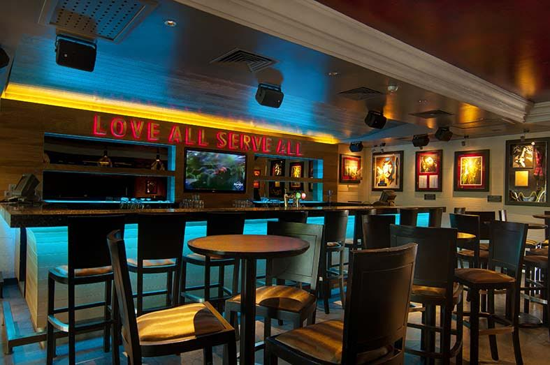 Interior 1 at Hard Rock Cafe, Bali