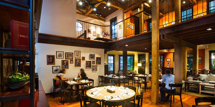 Interior of Crepe & Co in Langsuan Soi 1 Ploenchit Road, Bangkok