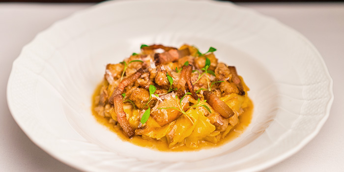 Pappardelle with Pork Cheek from Osteria Art in Raffles Place, Singapore