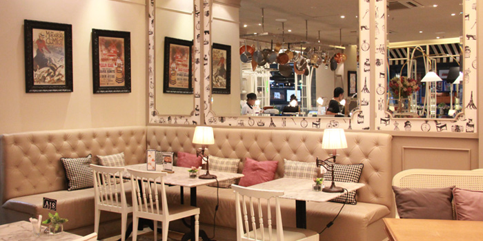 Sofa Area from Petite Audrey at Siam Center, Bangkok