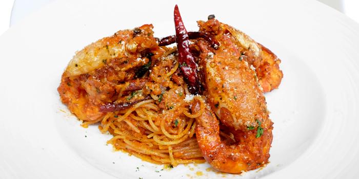 Spaghetti from Green Tea Sizzling Roti