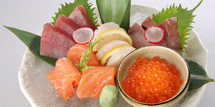 Sashimi 5 kinds from Sumire Yakitori House in Bugis, Singapore