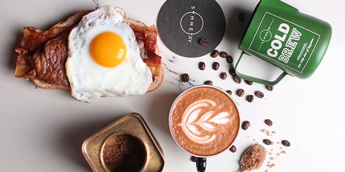Coffee & Sandwich Set from Symmetry in Bugis, Singapore