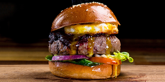 Aussie Burger from The Chop House (Katong) in East Coast, Singapore