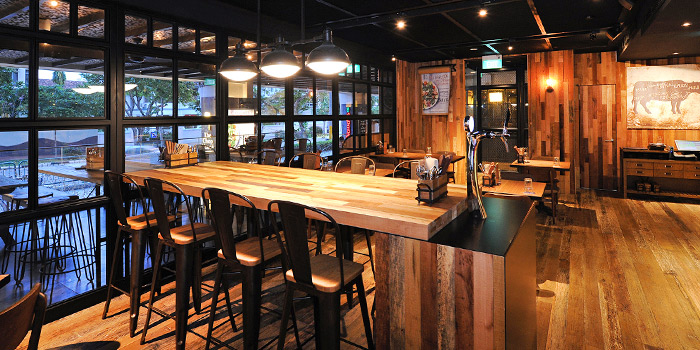 Interior of The Chop House (Katong) in East Coast, Singapore