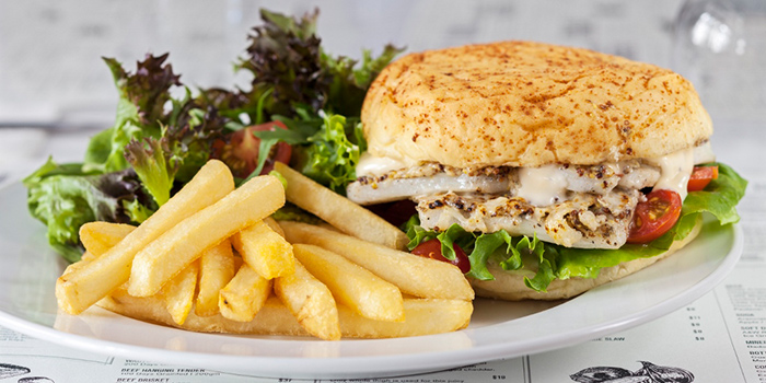 Cod Fish Burger from The Market Grill in Tanjong Pagar, Singapore