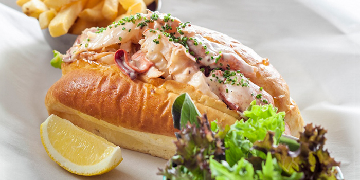 Lobster Roll from The Market Grill in Tanjong Pagar, Singapore