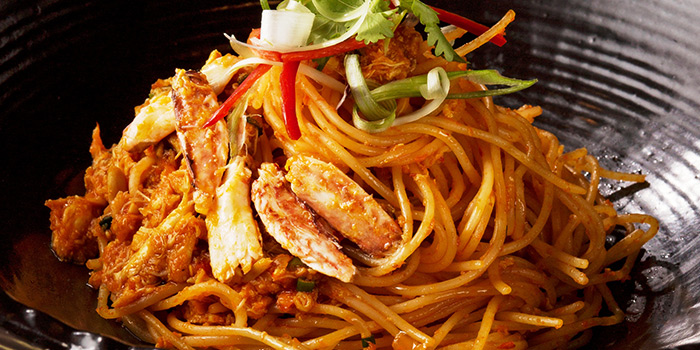 Chilli Crab Spaghettini from The Halia at Singapore Botanic Gardens in Tanglin, Singapore
