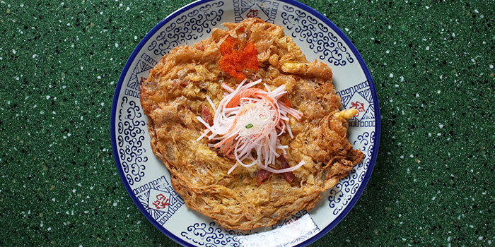 Crab Lap Cheong Omelette from Xiao Ya Tou in Duxton, Singapore