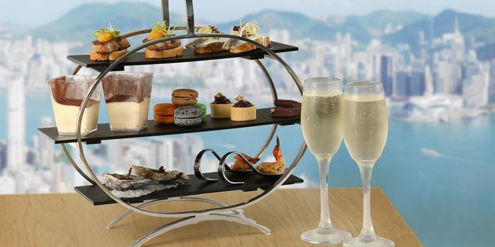 Afternoon Tea, AVA Restaurant Slash Bar, Tsim Sha Tsui, Hong Kong