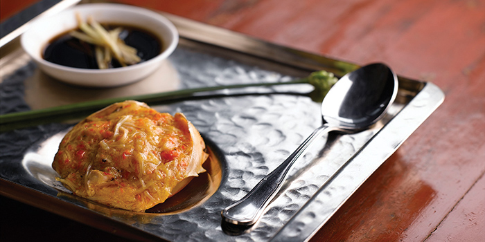 Baked Stuffed Crab Shell, Ye Shanghai, Admiralty, Hong Kong