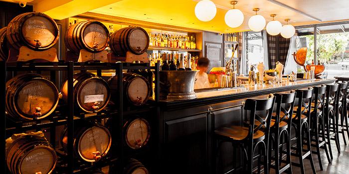 Bar from Vesper Cocktail Bar & Restaurant in Silom, Bangkok