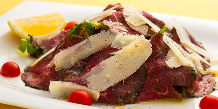 Beef Carpaccio Parmesan from Ugolini Restaurant & Bistro in Thonglor, Bangkok