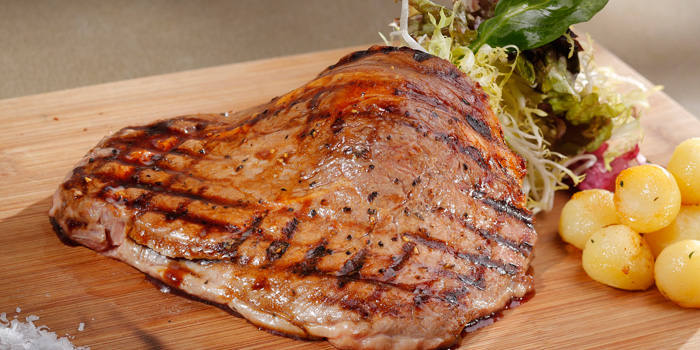Beef Rib Eye, AVA Restaurant Slash Bar, Tsim Sha Tsui, Hong Kong