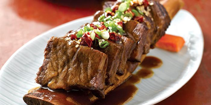 Braised Beef Ribs with Brown Sauce, Ye Shanghai, Admiralty, Hong Kong