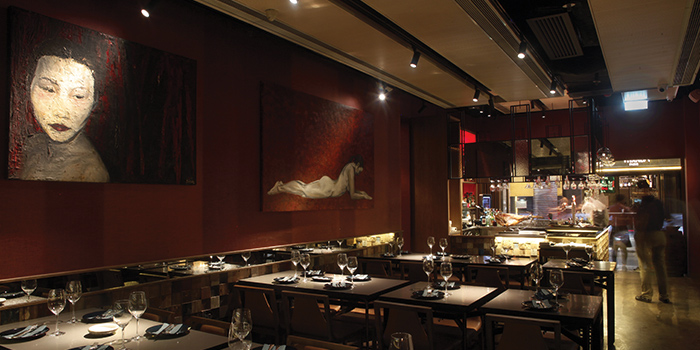 Dining Area of QMO GASTROBAR, Wan Chai, Hong Kong