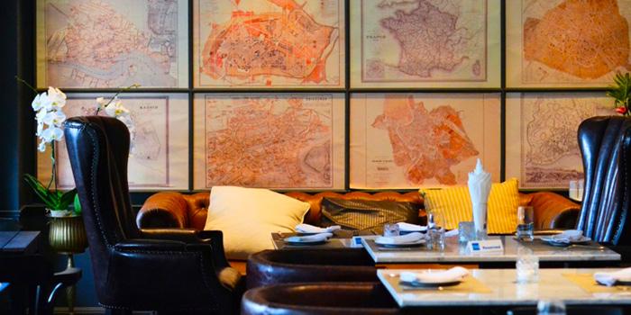 Dining Table from Vesper Cocktail Bar & Restaurant in Silom, Bangkok