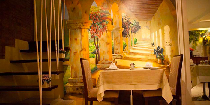 Dining Table from Ugolini Restaurant & Bistro in Thonglor, Bangkok