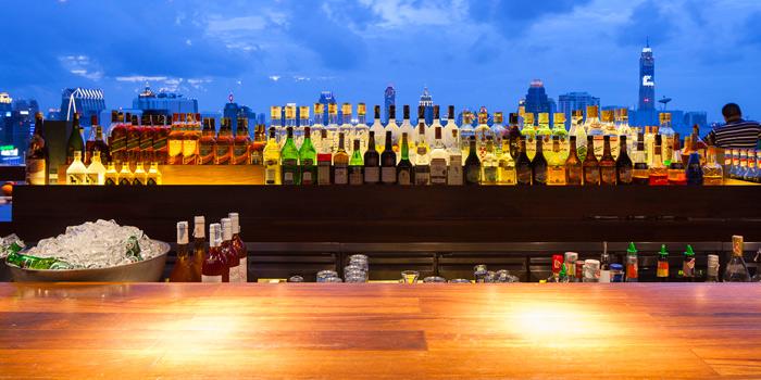 Drinks from Above Eleven in Sukhumvit Soi 11, Bangkok