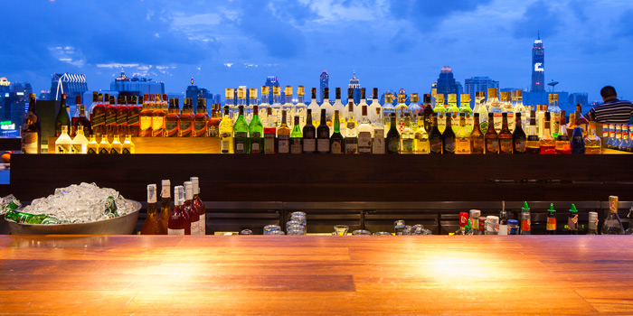 Drinks from Above Eleven in Sukhumvit Soi 11, Bangkok