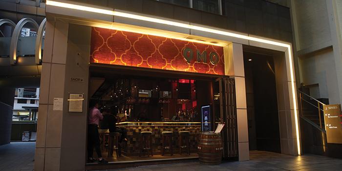Exterior of QMO GASTROBAR, Wan Chai, Hong Kong