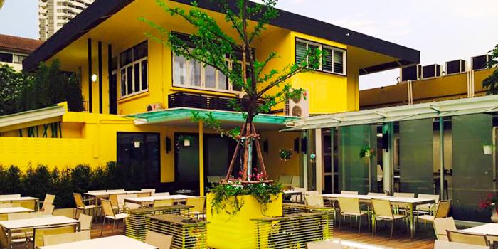 Exterior of Ugolini Restaurant & Bistro in Thonglor, Bangkok