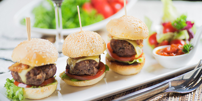 Beef Sliders from Georges Beach Club in East Coast, Singapore