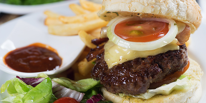 Cop The Lot Burger from Georges Beach Club in East Coast, Singapore