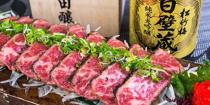 Grill M5 Kobe Beef, Uoichi Cuisine, Kowloon City, Hong Kong