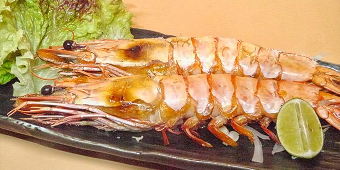 Grilled Tiger Prawn, Uoichi Cuisine, Kowloon City, Hong Kong