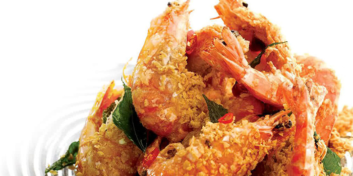 Cereal Prawn from 805 Seafood Kitchen (Hougang) in Hougang, Singapore