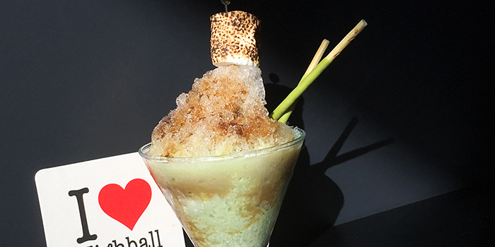 Matcha Bingsu Cocktail from Highball in Outram, Singapore