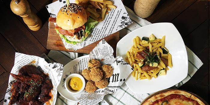 Food Spread from I am... (Haji Lane) in Bugis, Singapore