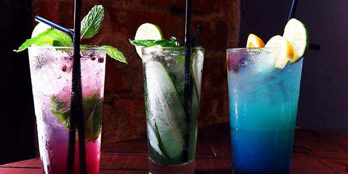 Mocktails from I am... (Haji Lane) in Bugis, Singapore