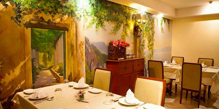 Interior of Ugolini Restaurant & Bistro in Thonglor, Bangkok