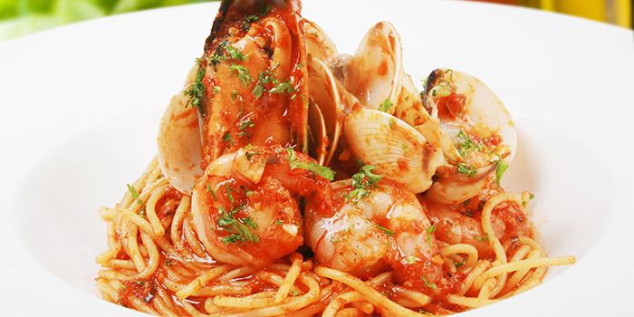Seafood Marina Pasta from LENAS @ Bugis+ in Bugis, Singapore