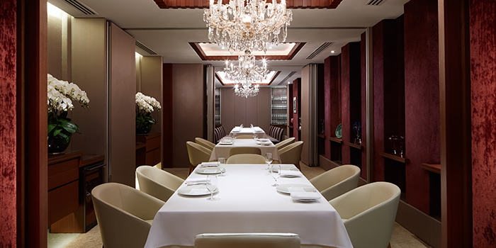 Private Dining Room of Les Amis at Shaw Centre in Orchard, Singapore