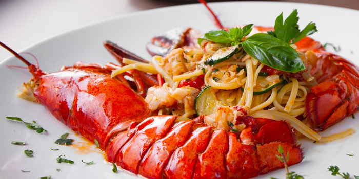 Linguine Lobster from Ugolini Restaurant & Bistro in Thonglor, Bangkok