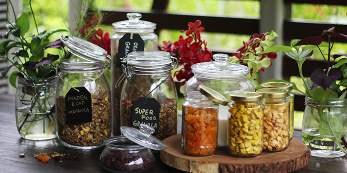 Granola Selection from Open Farm Community in Dempsey, Singapore