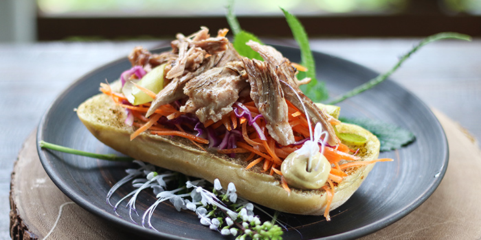 Open Faced Sandwich from Open Farm Community in Dempsey, Singapore