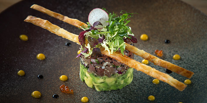 Bluefin Tuna Tartare from Opus Bar & Grill in Hilton Hotel along Orchard Road, Singapore