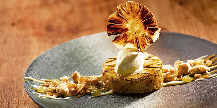Grilled Honey Pineapple from Opus Bar & Grill in Hilton Hotel along Orchard Road, Singapore