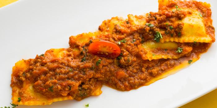 Ravioli Bolognese from Ugolini Restaurant & Bistro in Thonglor, Bangkok