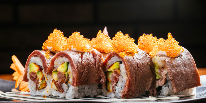 Roll Beef from Above Eleven in Sukhumvit Soi 11, Bangkok