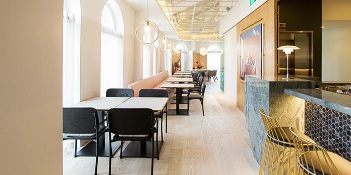 Interior of SPRMRKT Kitchen & Bar in Robertson Quay, Singapore