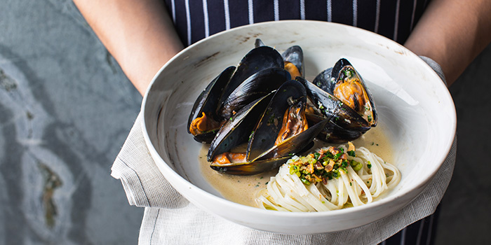 Mussels from SPRMRKT Kitchen & Bar in Robertson Quay, Singapore