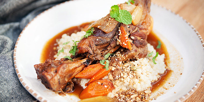 Lamb Shank from Sarnies Cafe in Raffles Place, Singapore
