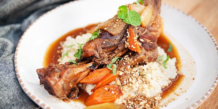 Lamb Shank from Sarnies Cafe at Telok Ayer in Raffles Place, Singapore